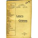 Leurs crimes