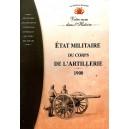Etat Militaire du Corps de L'Artillerie 1900  (Cd-Rom PC)