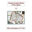 Noms des communes et anciennes paroisses de France : le Tarn et Garonne