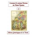 Noms des communes et anciennes paroisses de France : les Hautes Pyrénées