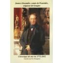James-Alexandre comte de Pourtalès seigneur de Gorgier Chronique de ma vie 1772-1852