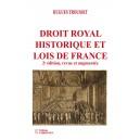 Droit royal historique et lois de France