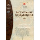 Dictionnaire généalogique Héraldique, Historique et Chronologique de 1757 (Cd-Rom)