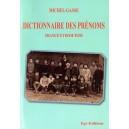 Dictionnaire des prénoms France et DomTom